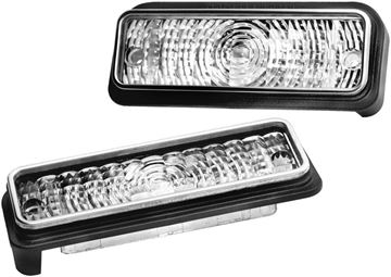 Picture of PARK LAMP LENS 69 PAIR CHEVELLE SS : L69BN CHEVELLE 69-69