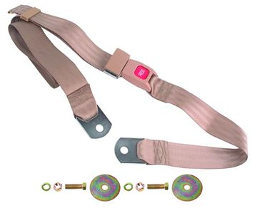 Picture of SEAT BELT TAN 60 : SBP-TAN60 CHEVELLE 64-72