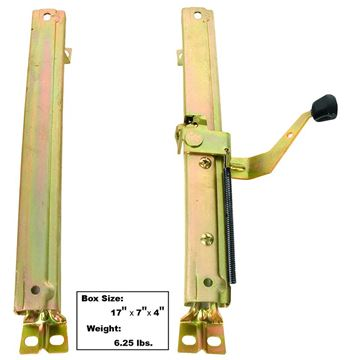 Picture of SEAT TRACK RH 68-72 2PC/SET : 1560 CHEVELLE 68-72