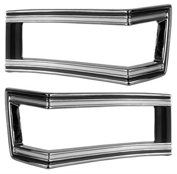 Picture of TAIL LAMP BEZEL 1968 PAIR : M1380 CHEVELLE 68-68