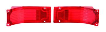Picture of TAIL LAMP LENS 66 PAIR : TL66AN CHEVELLE 66-66