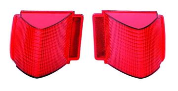 Picture of TAIL LAMP LENS 67 PAIR : TL67AN CHEVELLE 67-67