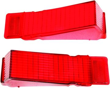 Picture of TAIL LAMP LENS 68 PAIR : TL68AN CHEVELLE 68-68