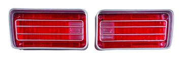 Picture of TAIL LAMP LENS 70 PAIR : TL70AN CHEVELLE 70-70