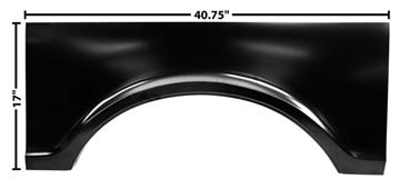 Picture of BED CENTER WHEEL ARCH LH 67-72 : 1185 CHEVY PICKUP 67-72