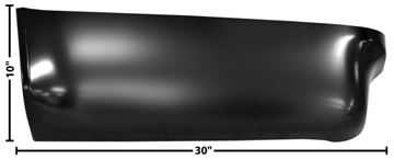 Picture of BED REAR LOWER SECTION LH 73-87 : 1187 CHEVY PICKUP 73-87