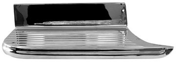 Picture of BED STEP LH 55-59 LONGBED CHROME : 1104JC CHEVY PICKUP 55-59