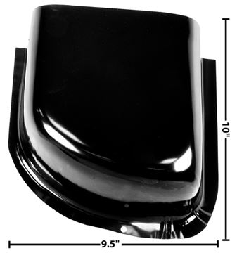 Picture of COWL LOWER AIR VENT LEFT 1960-66 : 1102CF CHEVY PICKUP 60-66