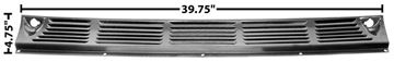 Picture of COWL VENT GRILLE 55-59 PAINTED : 1106V CHEVY PICKUP 55-59
