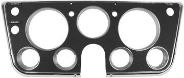Picture of DASH BEZEL 67-68 BLACK W/TRIM : 1146A CHEVY PICKUP 67-68