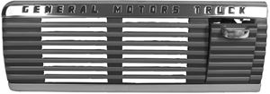 Picture of DASH SPEAKER GRILLE 47-53 GMC : 1114L CHEVY PICKUP 50-53