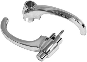 Picture of DOOR HANDLE OUTSIDE 60-66 PAIR : 1134 CHEVY PICKUP 60-66