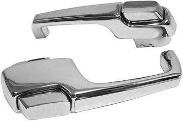 Picture of DOOR HANDLE OUTSIDE 67-72 PAIR : 1134A CHEVY PICKUP 67-72