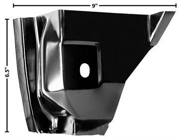 Picture of DOOR HINGE PILLAR POCKET RH 55-59 : 1102CG CHEVY PICKUP 55-59