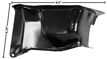 Picture of DOOR HINGE PILLAR POCKET RH 55-59 : 1102CJ CHEVY PICKUP 55-59