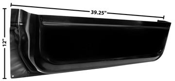 Picture of DOOR INNER BOTTOM PANEL RH 67-72 : 1101YA CHEVY PICKUP 67-72