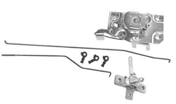 Picture of DOOR LATCH/RODS/REMOTE LH 1967-71 : 1103SB CHEVY PICKUP 67-71