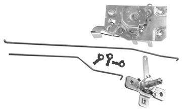 Picture of DOOR LATCH/RODS/REMOTE LH 1972 : 1103TB CHEVY PICKUP 72-72