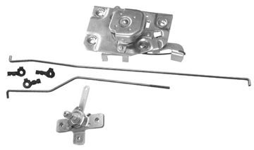 Picture of DOOR LATCH/RODS/REMOTE RH 1967-71 : 1103SA CHEVY PICKUP 67-71