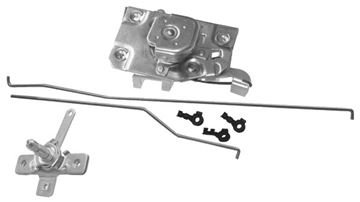 Picture of DOOR LATCH/RODS/REMOTE RH 1972 : 1103TA CHEVY PICKUP 72-72