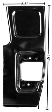 Picture of DOOR PILLAR FRONT LOWER RH 55-59 : 1102BJ CHEVY PICKUP 55-59
