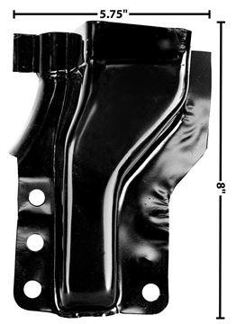 Picture of DOOR PILLAR FRONT LOWER RH 60-66 : 1102BQ CHEVY PICKUP 60-66