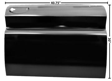 Picture of DOOR SKIN RH 60-66 : 1102AH CHEVY PICKUP 60-66
