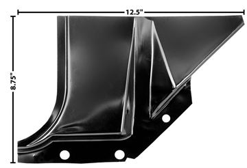 Picture of FOOT WELL PANEL LH 60-66 : 1114X CHEVY PICKUP 60-66