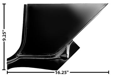 Picture of FOOT WELL PANEL LH 67-72 : 1114Z CHEVY PICKUP 67-72