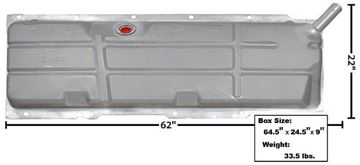 Picture of GAS TANK 67-72 W/O EEC : T53 CHEVY PICKUP 67-72