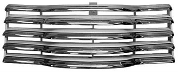 Picture of GRILLE ASSEMBLY 47-53 CHROME/WHITE CHEVY : M1137A CHEVY PICKUP 47-53