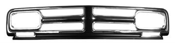 Picture of GRILLE CHROME 71-72 GMC : M1136A CHEVY PICKUP 71-72