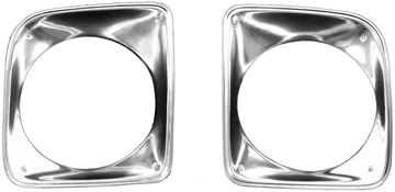 Picture of HEAD LAMP BEZEL 67-68 PAIR : 1115G CHEVY PICKUP 67-68