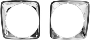 Picture of HEAD LAMP BEZEL 69-72 PAIR CHEVY : 1115H CHEVY PICKUP 69-72