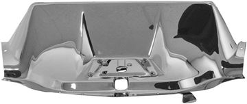 Picture of HOOD LATCH PANEL CHROMED STAINLESS : 1121X CHEVY PICKUP 50-53
