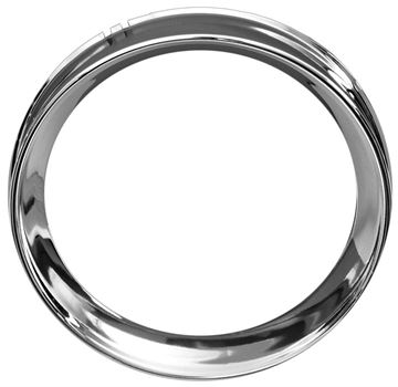Picture of INSTRUMENT BEZEL CHROME 54-55 : 1148C CHEVY PICKUP 54-55