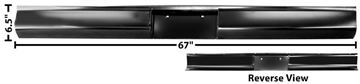 Picture of ROLL PAN/REAR 73-87 FLEETSIDE : 1159C CHEVY PICKUP 73-87