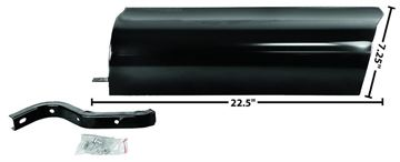 Picture of RUNNING BOARD TO BED APRON LH 47-53 : 1107JD CHEVY PICKUP 47-53