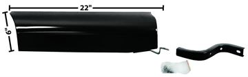 Picture of RUNNING BOARD TO BED APRON RH 54-55 : 1107JE CHEVY PICKUP 54-55