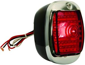 Picture of TAIL LIGHT RED LH 40-53 LED(45) : C7031RL CHEVY PICKUP 40-53