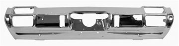 Picture of BUMPER REAR CHROME 71-72 : 1861 CUTLASS 71-72
