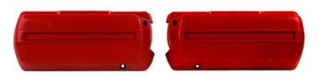 Picture of ARM REST BASE RED PAIR 68-69 : M1040B EL CAMINO 68-72