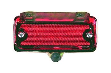 Picture of BUMPER REFLECTOR REAR 69-72 : TU69R EL CAMINO 69-72