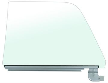 Picture of DOOR GLASS ASSY RH 68-72 CLEAR : 1485MC EL CAMINO 68-72
