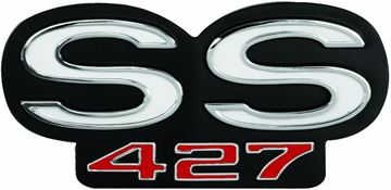 Picture of EMBLEM 66 GRILLE & 66-67 REAR PANEL : EM4312 EL CAMINO 66-66