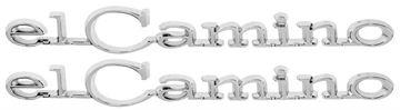 Picture of EMBLEM 68-69 QUARTER *PAIR* : EM4850 EL CAMINO 68-69