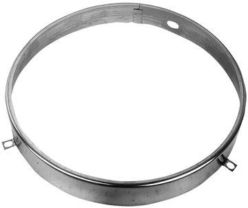 Picture of HEADLAMP RETAINER RING 62-78 PU : M1016 EL CAMINO 71-72