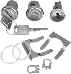 Picture of LOCK KITS IGNITION & DOOR LATER : 104 EL CAMINO 66-67