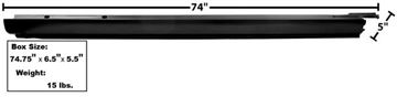 Picture of ROCKER PANEL RH 68-72 EL CAMINO : 1489BA EL CAMINO 68-72