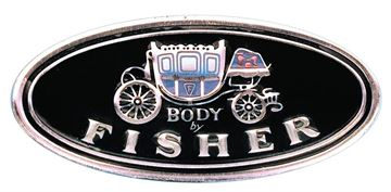 Picture of SILL PLATE DECAL BODY BY FISHER : FL01 EL CAMINO 64-72